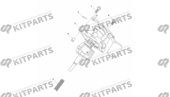 Механизм переключения передач Lifan Cebrium