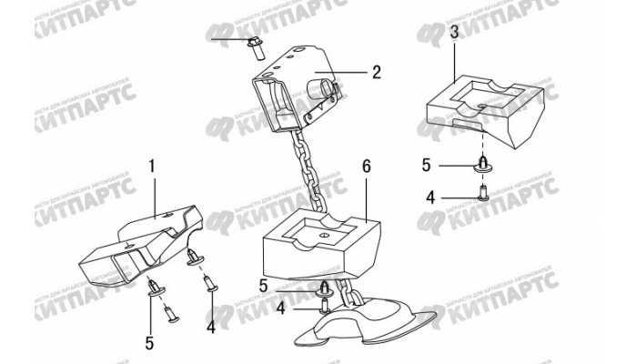 Лифт запасного колеса Great Wall Hover H5